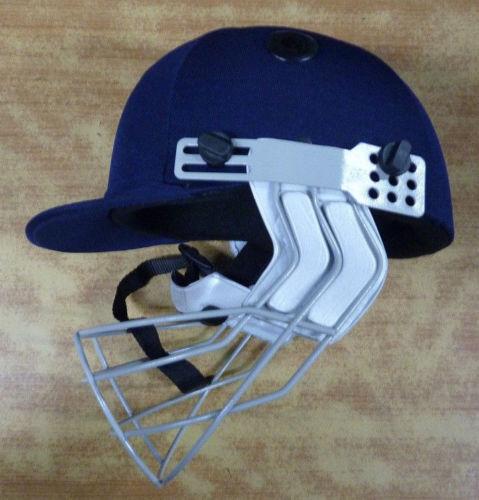 Pilot Eco F.P Cricket Helmet with Iron Visor Navy blue