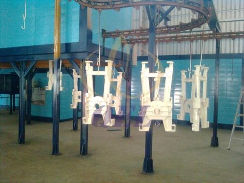 Automatic Conveyorised Painting Plant