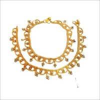 Designer Payal With Diamond,Julla,hanging Beads
