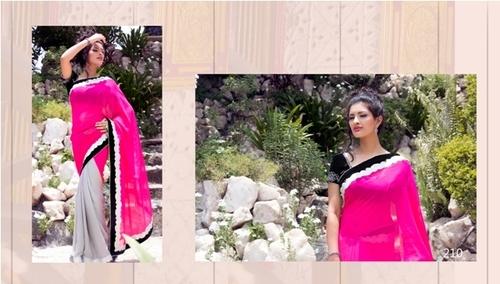 Modern Ladies Wear Saree