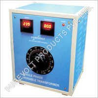 Manual Variable Auto Transformer