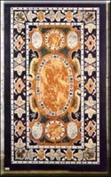 Rectangular Marble Inlay Box