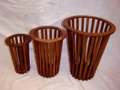 Wooden Decorative Basket