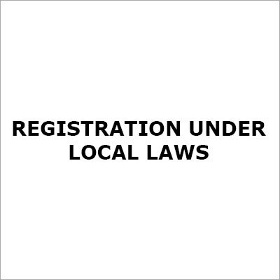 Registration Under Local Laws