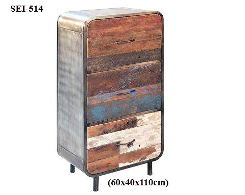 Designer Wooden Side Drawers