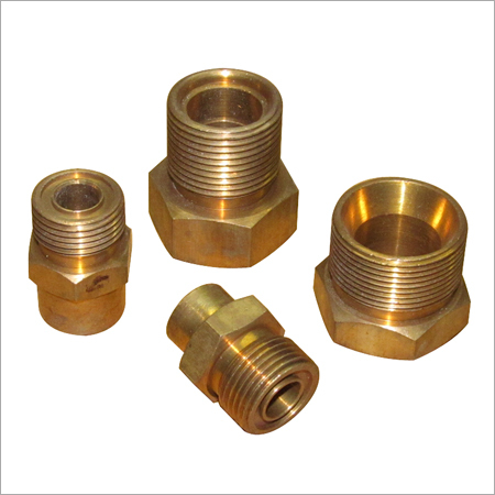 Brass Half Plug Pipe Fitting