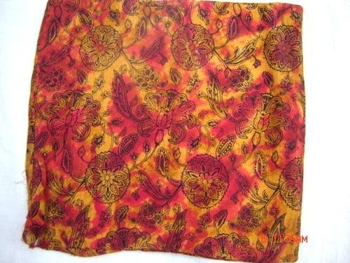 Printed Cushion Viscose Fabric
