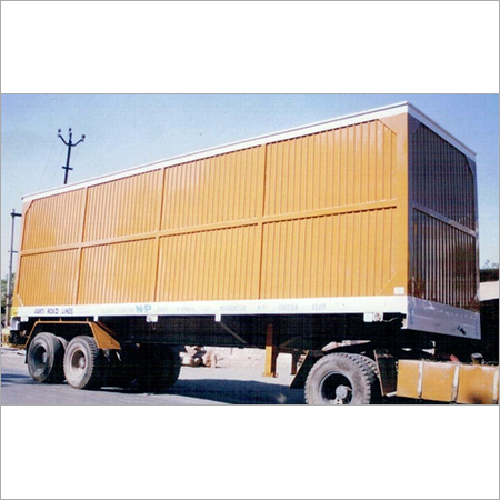 14 Wheels Dry Container