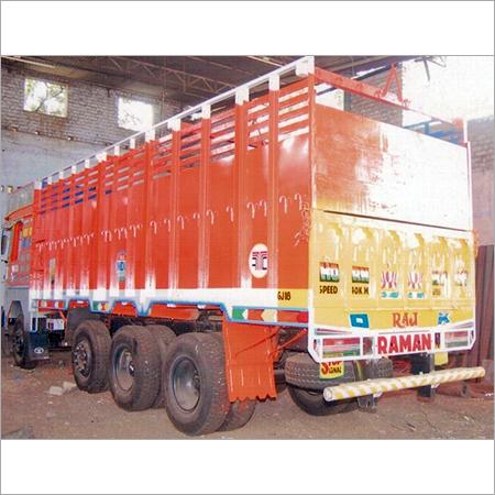12 Wheels Truck Body