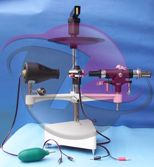 Millikan's Oil Drop Apparatus