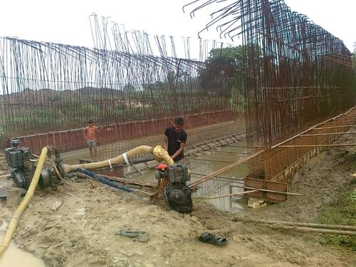 Bridge Construction no.17. Champadanga.Hooghly