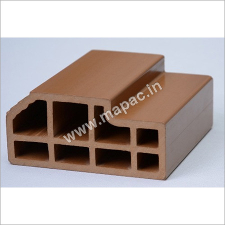 WPC Brown Window Frame