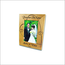 Wooden Photo Frames Engraving