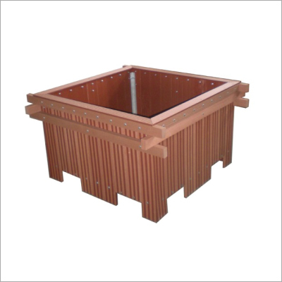 Wpc Engraved Planter