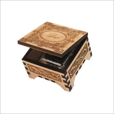 Wooden Boxes Laser Engraving