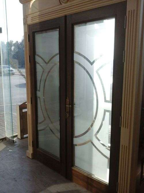 Fixed Glass Doors
