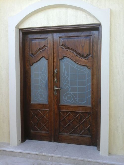 Modern Fixed Glass Door