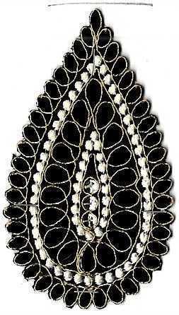 Designer Embroidery Butta