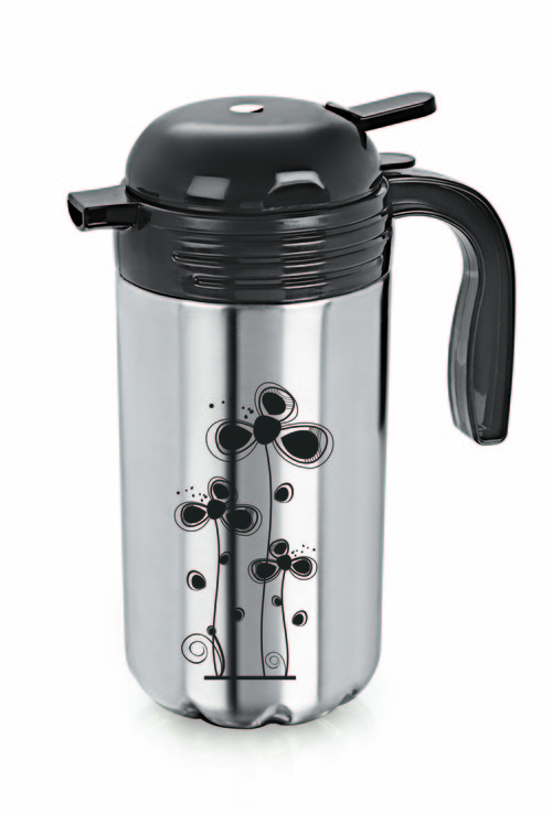 SS VACUUM TEA FLASK & CUPS