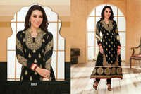 Heavy Black Anarkali Suit