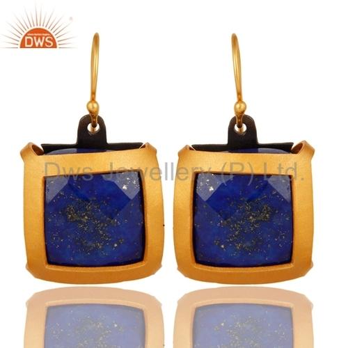 Lapis Lazuli Sterling Silver Earrings Jewelry