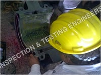 Ultrasonic Testing of Rotor Bearing