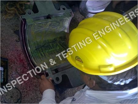 Ultrasonic Testing of Rotor Bearing