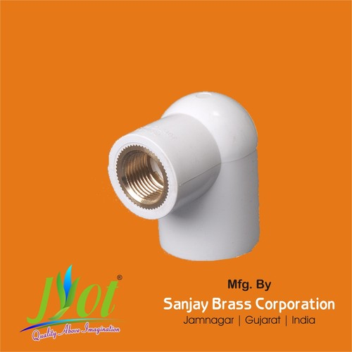 PVC Upvc Reducer Brass Elbow