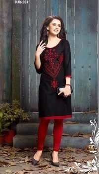 Stylish Multi-Color Cotton Kurti