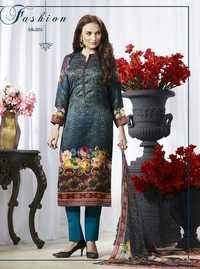 Multi-Color Digital Printed Salwar Suit