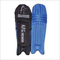 APG Blue Cricket Batting Pads For Beginners