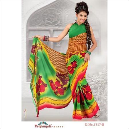 Printed Fashionable Sarees