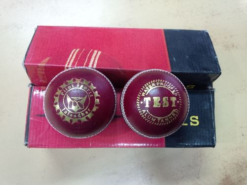 """-PILOT PS Cricket ball """"TEST"""" For cricket practice & matches"""