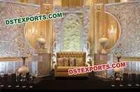 Latest Design Wedding Stage Backdrop Manufacturer