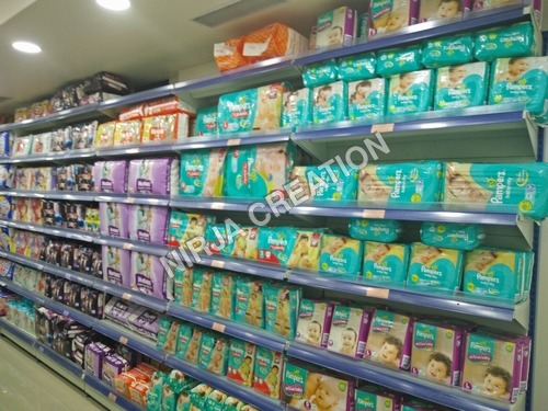 Supermarket Cosmetic Shelving