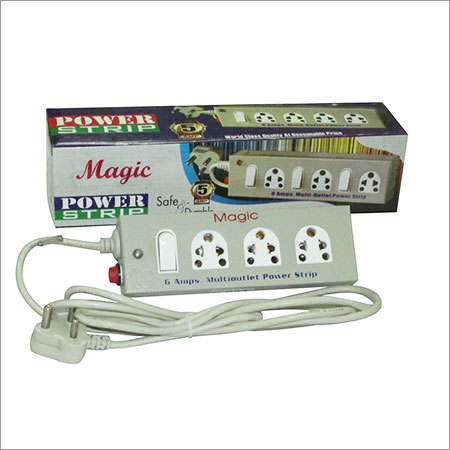 3 socket Metal Power Strips
