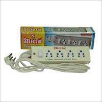 4 socket Metal Power Strips