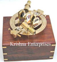 Nautical Brass Sextant