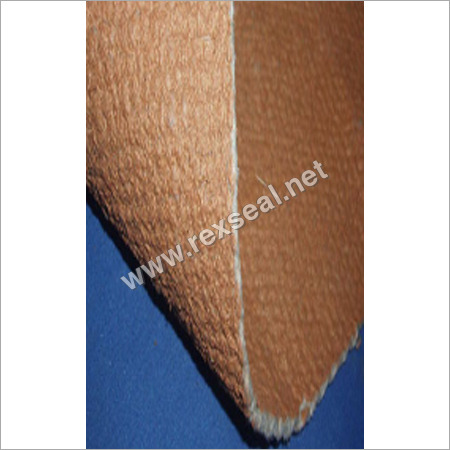 High Temperature Woven Vermiculite Coated Ceramic Fiber  Cloth