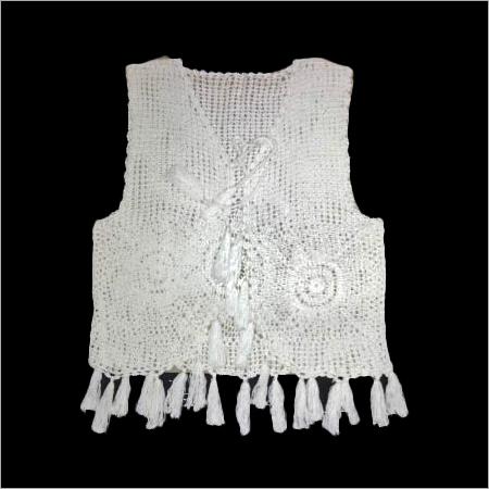 Handmade Ladies Fancy Crochet Vest
