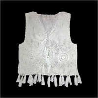 Handmade Ladies Fancy Crochet Vest