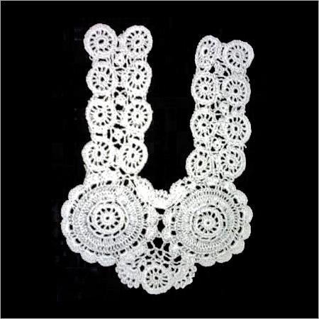 Handmade Neck Flour Crochet Collars