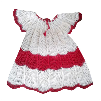 Handmade Kids Fancy Crochet Frocks