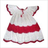 Handmade Kids Fancy Crochet Frocks