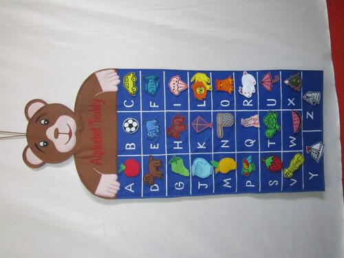 Alphabet Teddy Chart