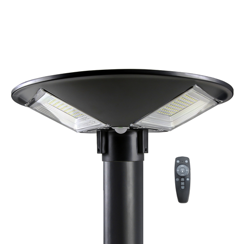 Integrated Solar Courtyard Lighting Systems