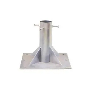 GI Elevation Shaft/Mast With Base Plate
