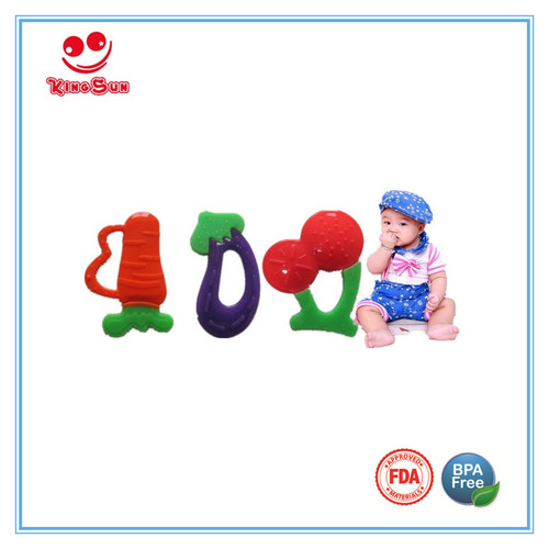 Solid Silicone Teether