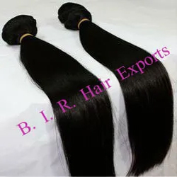 Straight Temple Hair