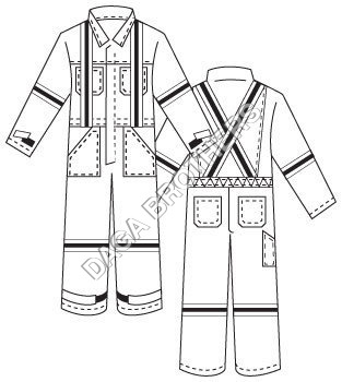 Factory Coverall Workwear